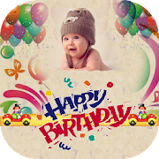 Birthday Wishes  - bday photo frame with name