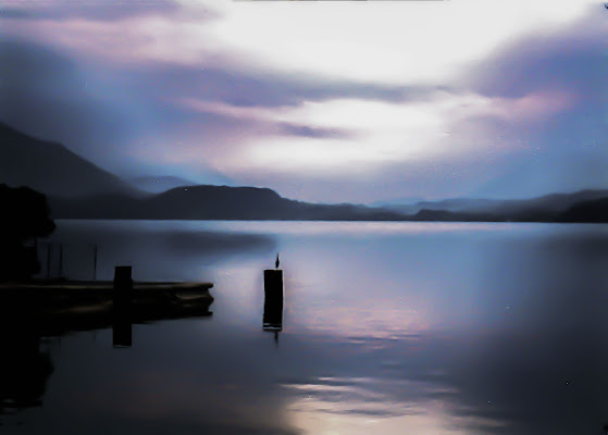 The lake. di fabio pelosi