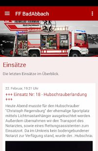 Feuerwehr Markt Bad Abbach- screenshot thumbnail