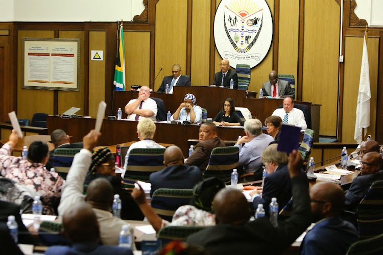 Tuesday's Nelson Mandela Bay Municipality council meeting which was meant to decide on the fate of mayor Athol Trollip was 'permanently adjourned'.