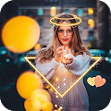 Light Glow Crown Photo Editor - Neon Photo Effects icon