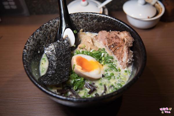日式拉麵濃郁湯頭好喝推薦!雞白湯/鹽味魚介,雙口味湯頭必點,近赤崁樓 @ 咕溜魚