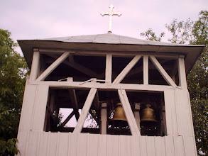 Photo: clopotnita bisericii ortodoxe - merisor