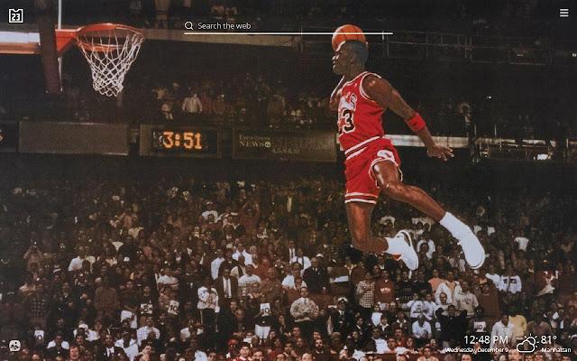 cefa72c2cbf Michael Jordan NBA Basketball HD Theme