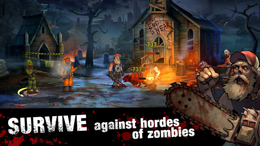Zero City: Zombie games for Survival in a shelter 1.7.1 screenshots 3