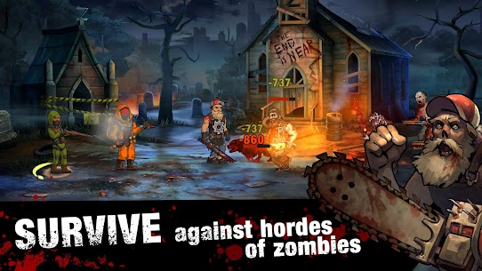 Zero City: Zombie games for Survival in a shelter 3