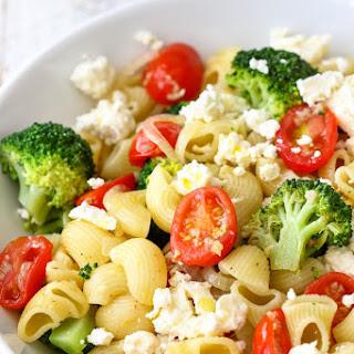 Broccoli Tomato Pasta Salad.