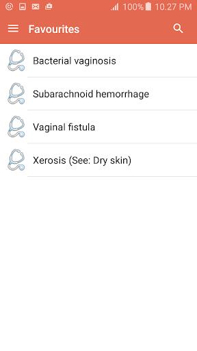 Disorder & Diseases Dictionary 7.6 screenshots 6