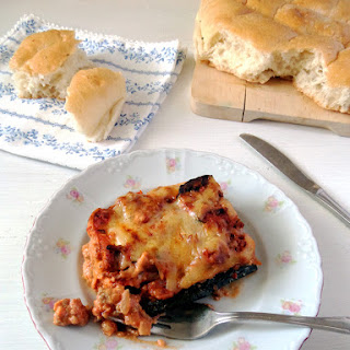 Low Carb Zucchini Lasagna.