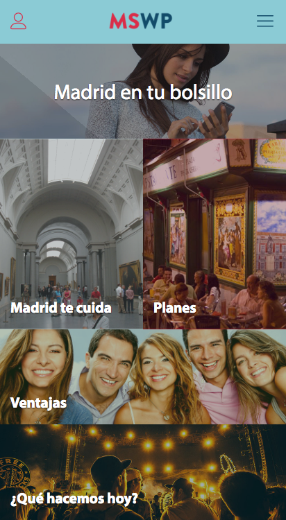 Madrid Student Welcome Pass: captura de pantalla
