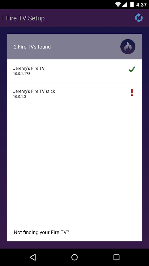 App Shortcuts for Fire TV- screenshot