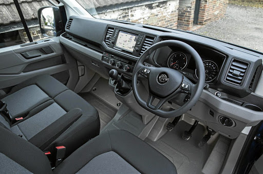 The interior has good space and equipment but surprisingly there is no auto box yet. Picture: NEWSPRESS UK