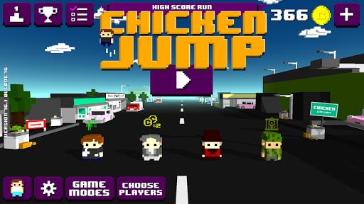Chicken Jump Crazy Traffic