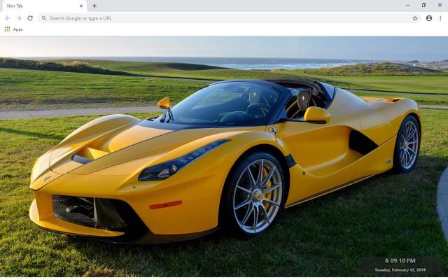 Ferrari LaFerrari Aperta New Tab
