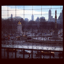 Photo: We have quite a view from the Time Warner Center in NYC.