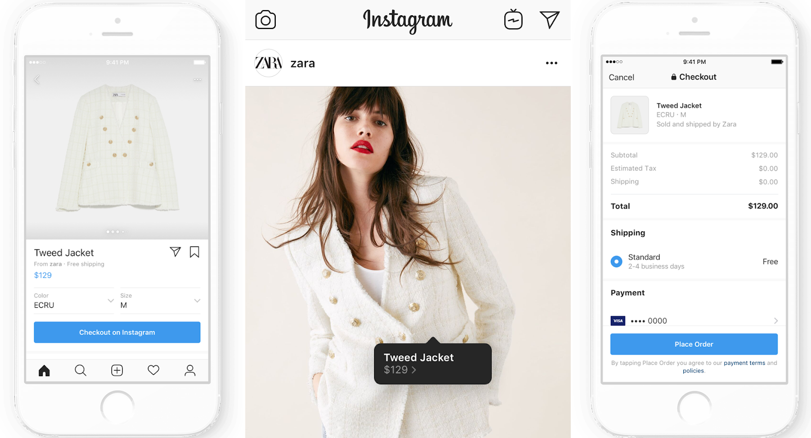 Instagram social commerce