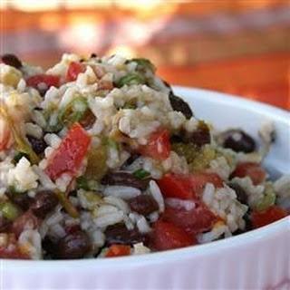 Black Bean and Rice Salad