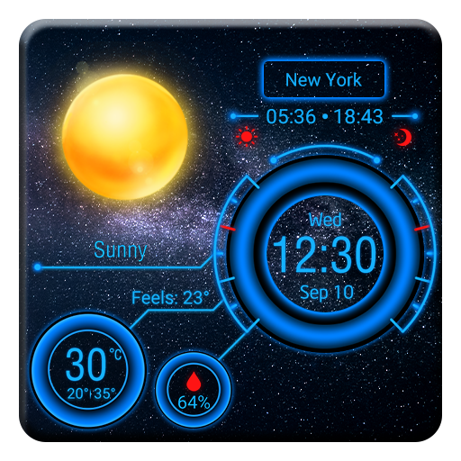 Multifunctional Weather Widget