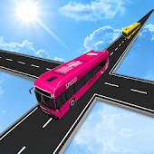 Impossible Bus Simulator Tracks Driving 3D