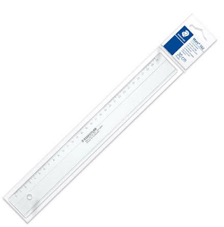 Staedtler plastlinjal 30cm