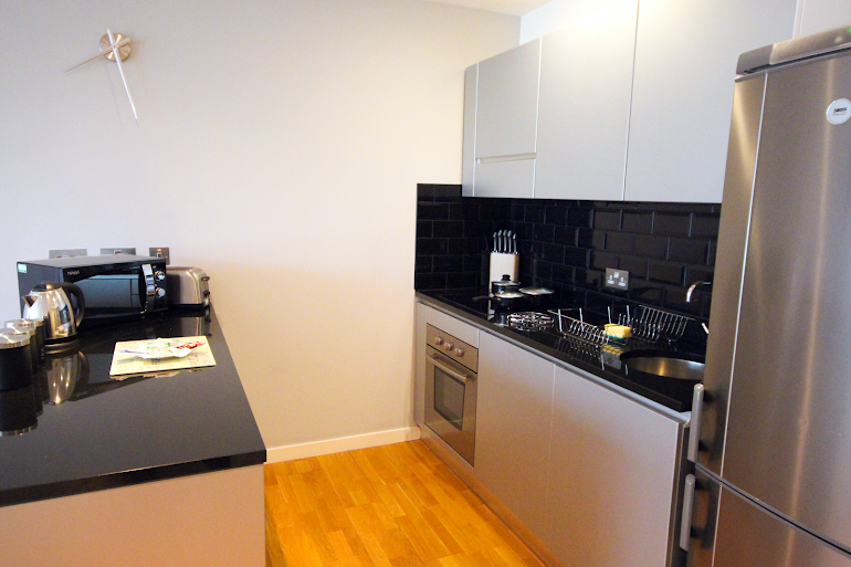 Kitchen at Newcastle upon Tyne apartment