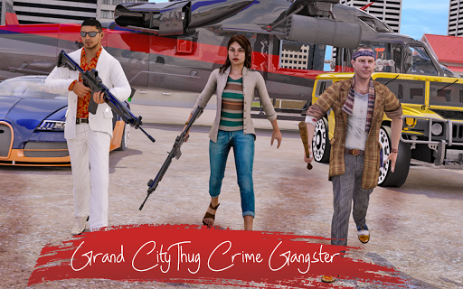 Grand City Thug Crime Gangster 2.10 screenshots 9
