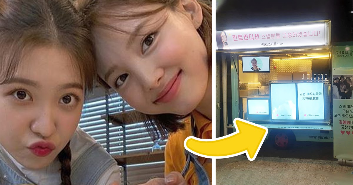 Red Velvet & TWICE's Nayeon Shower Yeri With Love & Support Trucks For Her Upcoming K-Drama Acting Debut