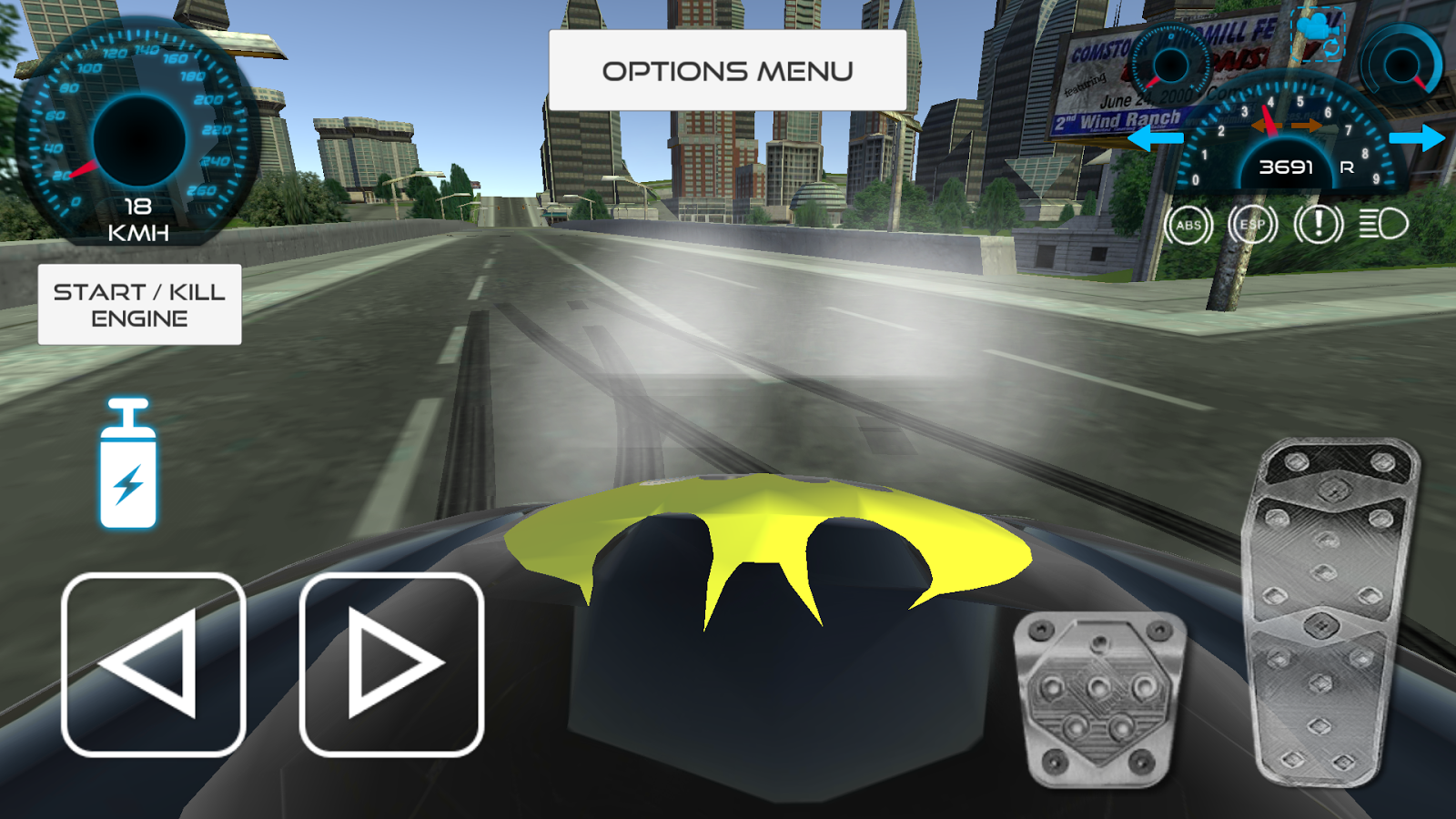 Batmobile Dark Driver 2018- screenshot
