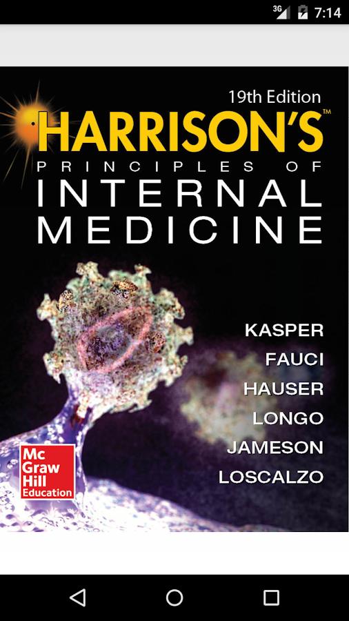 Harrison's Internal Med 19/E APK Cracked Free Download | Cracked