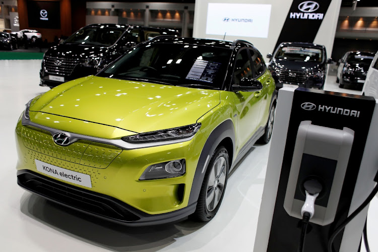 The Hyundai Kona Electric. Picture: REUTERS/JORGE SILVA