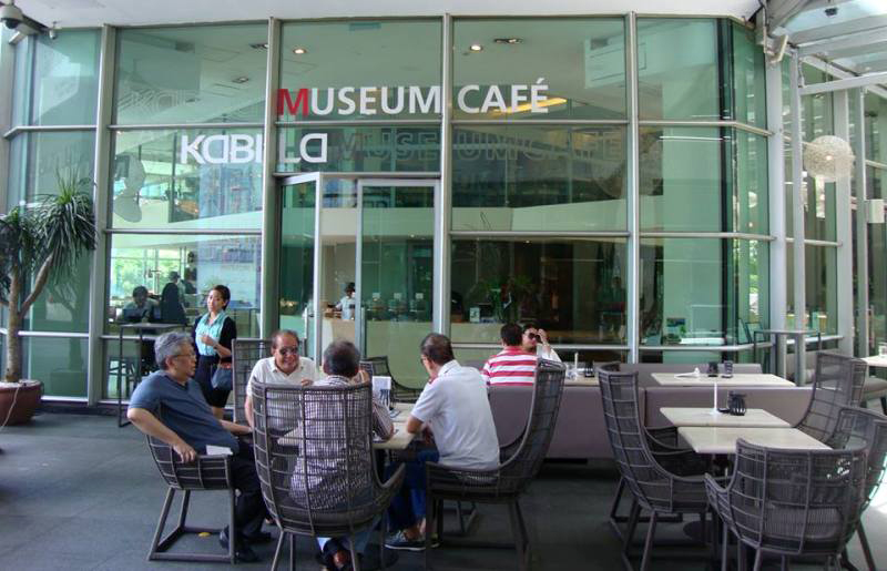 Museum Cafe storefront