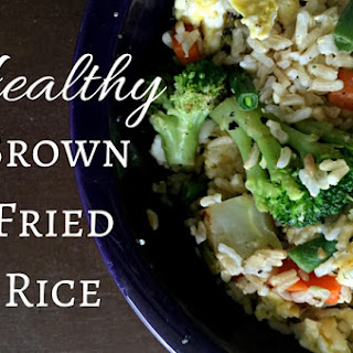 Healthy Brown Fried Rice