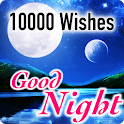 Good Night Wishes Messages 10000+ icon