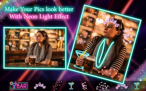 Download Neon filter photo editor - custom neon signs For PC Windows and Mac apk screenshot 5