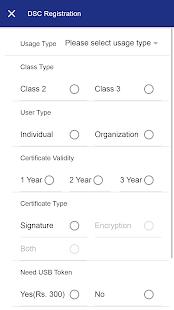 Digital Signature APP - náhled