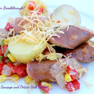 Jalapeno Sausage and Potato Grill Packet!