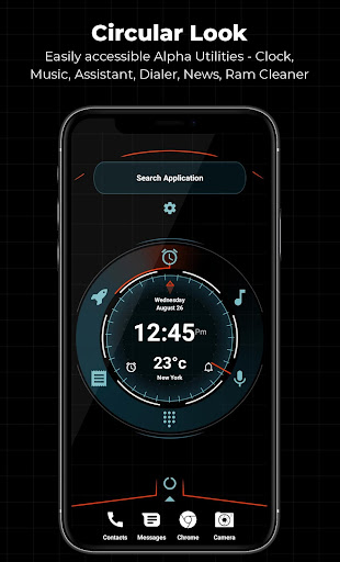 Alpha Launcher Free - No ads 10.6 screenshots 1