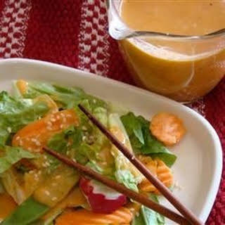 Famous Japanese Restaurant-Style Salad Dressing.
