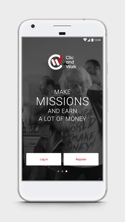Clic and Walk - Earn money- screenshot