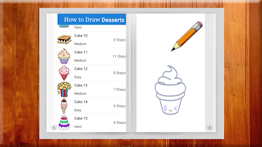Learn to Draw Desserts - screenshot thumbnail 03