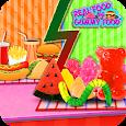 Gummy Food Vs Real Food Challenge Game