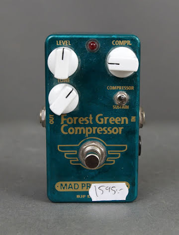 Mad Professor Forest Green Compressor HW USED - Good Condition