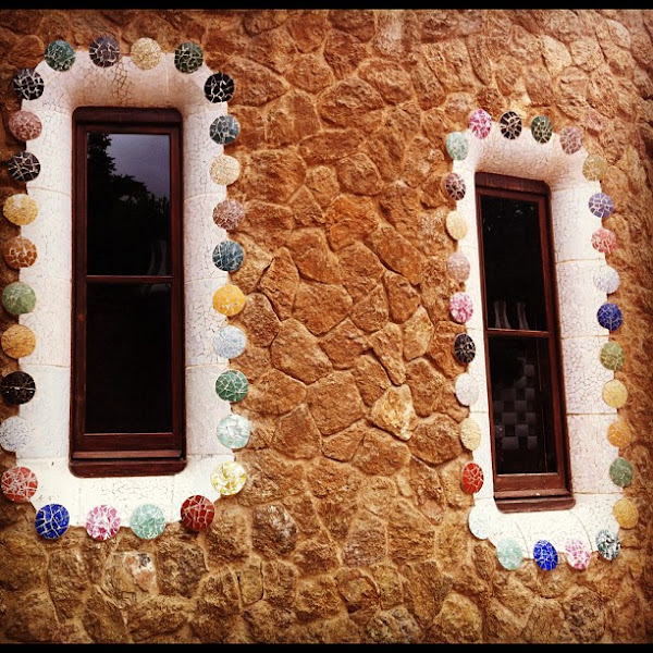 Photo: Candy land? Or Gaudi masterpiece?