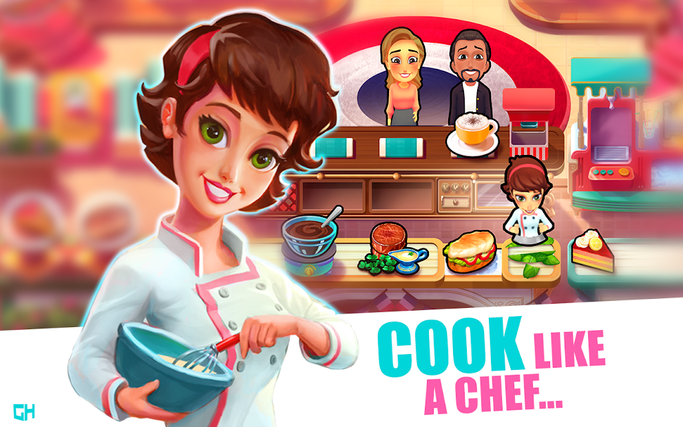 Mary le Chef - Cooking Passion Android App Screenshot