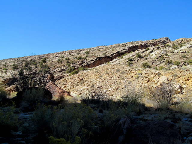 Eardley Canyon cutting through the San Rafael Reef