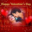 Valentine's Day Photo Frame 2021 : couple frames icon