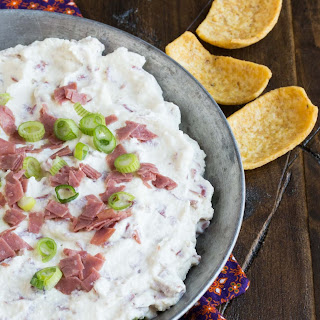 Chipped Beef Dip.