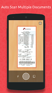Scan: Document, Receipt to PDF- screenshot thumbnail
