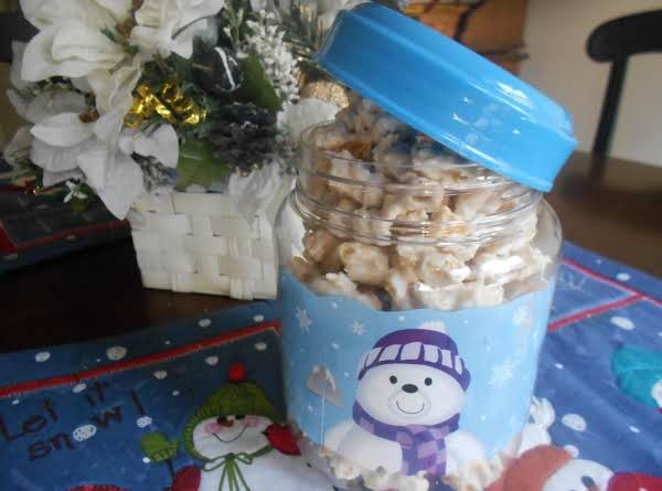 White Chocolate Snow Snack Mix