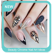 Beauty Chrome Nail Art Ideas